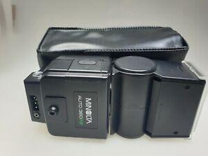 Minolta 360PX Auto Blitz - Blitzlicht 360 PX Flash - Blitzgerät - Aufsteckblitz
