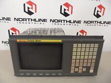 """Fanuc A02B-0166-C201/R  9"""" CRT MDI Unit  A61L-0001-0093  / 30 Days Warranty"""
