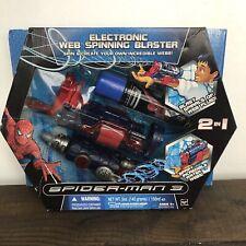 Spiderman 3 Electronic Web Spinning Blaster 2007 Hasbro