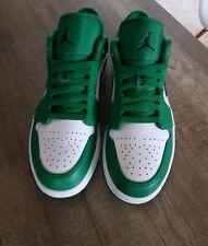 Nike Air Jordan 1 Low Größe 42,5 US 9 Pine Green Neu!!!