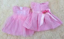 BERENGUER LA NEWBORN PINK DOLL CLOTHES DRESS SET