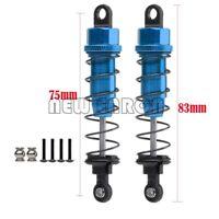 Blue Aluminum 75MM Oil Adjustable Shocks Absorber For 1/10 HPI HSP Tamiya CC01