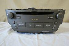 ✅ 06 07 08 09 Lexus is250 is350 AM FM SAT AUX Radio 6CD Changer Player P1809 OEM