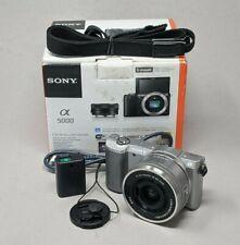 Sony Alpha A5000 20.1MP Digital Camerawith 16-50mm Lens - 3,578 Clicks