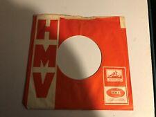 "One 7""  HMV Original Record Sleeve  7/3-50/-"