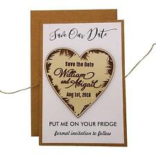 Personalized Magnets Wedding Save The Date Cards Favors With Envelopes-MG4