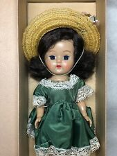 "8"" Antique Vintage Cosmopolitan Toy Corp Big Eye Ginger 1955 Original W/ Box #M1"