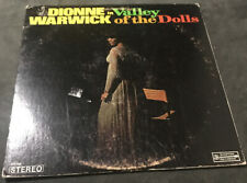 Dionne Warwick - Valley Of The Dolls Lp 1968 Scepter Soundtrack Vg