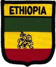 Embroidered International Patch National Flag of Ethiopia NEW bunting