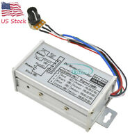 PWM DC Motor Stepless Variable Speed Control Controller Switch 12V 24V Max 20A