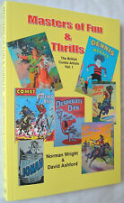 Masters of Fun & Thrills: British Comic Artists: Dudley Watkins, Ken Reid, etc