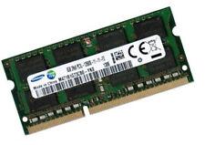 8gb ddr3l 1600 MHz RAM MEMORIA SAMSUNG SERIE 9 900x4d Samsung pc3l-12800s