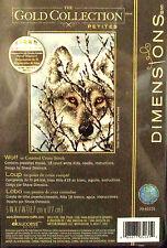 'Wolf' Dimensions Gold Petites Cross Stitch Kit