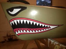 Kayak / Canoe Shark Mouth Color Decal 7 COLORS TO CHOOSE FROM USA Seller