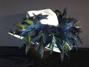 Seattle Seahawks Feather Team Colors Cowboy Hat - $100 Gift Card w/ Purchase