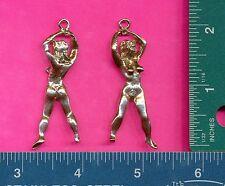 12 wholesale lead free pewter goddess pendants 5039
