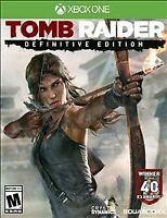 Tomb Raider Definitive Edition Microsoft Xbox One  - New Game Factory Sealed