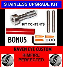 Ruger 10/22 S1 Kit- Takedown screw, OTG pins,buffer;10% proceeds go to Red Cross