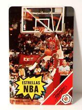 1988 MICHAEL JORDAN Fournier's Estrellas NBA Rule Card NM+ MUST SEE c334
