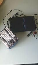 Konsole Sony PlayStation 2 + 9 Spiele,+ Kabel