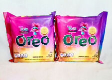 TROLLS WORLD TOUR Lot of 2 Oreo Cookies Pink Filling with Glitter