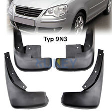 SET FIT FOR 05~10 VOLKSWAGEN POLO MK4 9N3 VW MUD FLAPS SPLASH GUARD MUDGUARDS