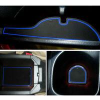 15*Luminous Car Interior Door Mat Car Gate Slot Pad for Honda Civic 8th 2006-09
