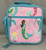 Pottery Barn Kids Pink Mermaid Mackenzie Classic Lunch Bag