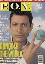 1997 TOWER RECORDS - POV Men's Magazine JEFF GOLDBLUM Postcard