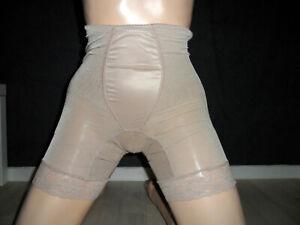 DeMillus Miederhose mit Bein und Spitze/glänzend Gr.M