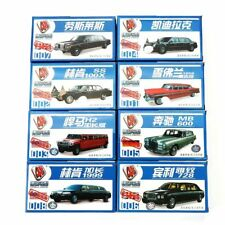 Model Railways Assorted Limousines Model Kits - 8 Variations 1/87 Scale