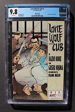 LONE WOLF & CUB 1 FRANK MILLER 1987 Manga 3rd Print Paramount MOVIE CGC NMMT 9.8