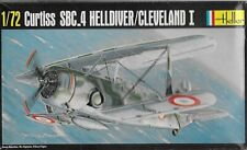 1/72 Heller 285 Curtiss SBC-4 Helldiver / Cleveland I WW2 Dive Bomber France RAF