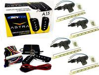 Keyless Entry Car Alarm Security 4 Door Locks Controls Astra Scytek A15