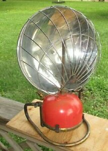 VINTAGE TILLEY ENGLAND HEATER REFLECTOR LAMP 1580A WITH STAND