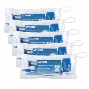 5X Orthodontic Tooth Brush Kit Tie Interdental Brush Floss Oral Care Travel Kit