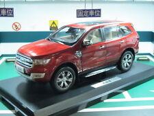 Ford JMC Everest concept Ranger SUV 1/18 model car