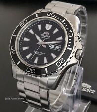 Orient Mako Mens Automatic Power Reserve 200M Divers Watch FEM75001B6 Brand New