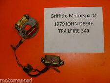 electrical components for john deere trailfire 440 for sale ebay  79 john deere jd trailfire trail fire 340 78 77 440? cdi stator box ignition