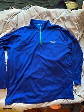 Polo Sport Ralph Lauren Quarter Zip Thermovent Long Sleeve Shirt Size Xxl