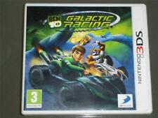 Ben 10 Galactic Racing Nintendo 3DS UK Game (No Manual)