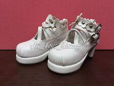 1/6 BJD White Lolita shoes A fits Yo SD AI Dz BB Super Dollfie SALE