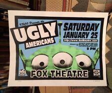 Ugly Americans (Bob Schneider) - Boulder, Co 1995 Poster #39/50 Cryptographics