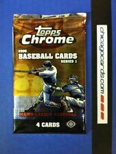 2005 Topps Chrome Baseball Series 1 HOBBY Pack (Auto/Gold/Silver X-Refractor)?