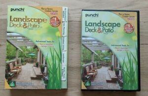 Landscape Deck & Patio Design PC Software - Punch! 2012