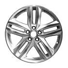 19x7.5 5 Double Spoke Take-Off Chevy Aluminum Wheel Machined And Silver 05832