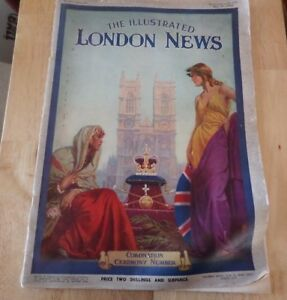 THE ILLUSTRATED LONDON NEWS - CORONATION CEREMONY NUMBER - MAY 15 1937 - No5117