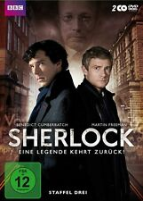 2 DVDs * SHERLOCK - SEASON / STAFFEL 3 # NEU OVP WVG