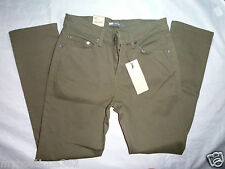 LEVIS women's leggings olive green mid rise jeans SIZE 10PM new nwt