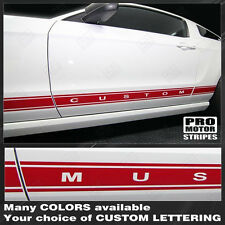 Ford Mustang Rocker Panel Stripes Decals 2005 2006 2007 2008 2009 Pro Motor